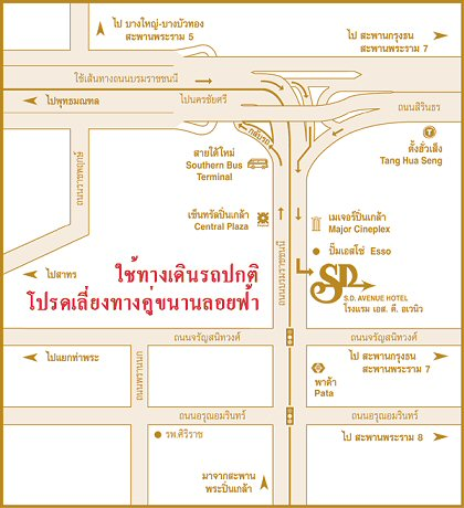 sd avenue map